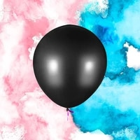 18 36 big gender reveal powder balloon blue and pink confetti balloon for baby shower party event supply