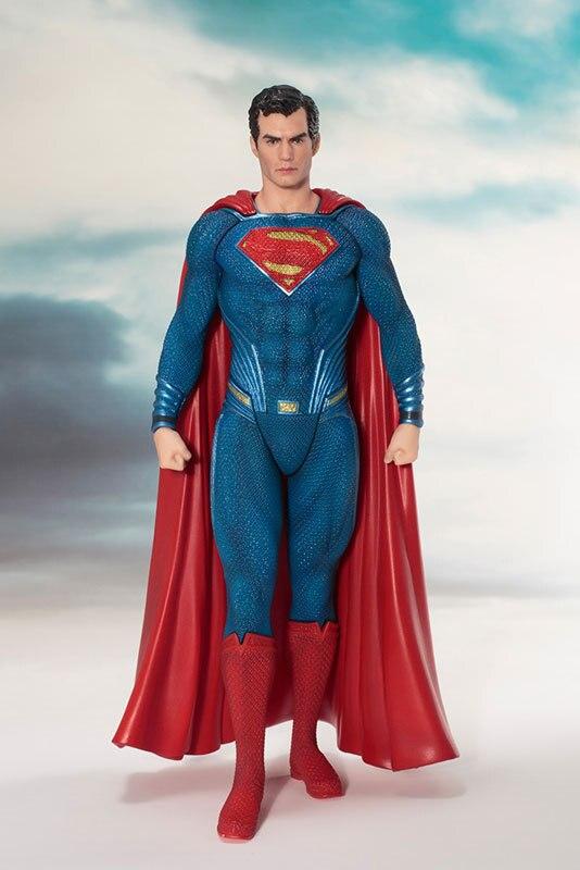 Nuevo Superman Clark Kent estatua DC Comic película de la Liga de la justicia Super Héroes Koto estatuilla figura Juguetes