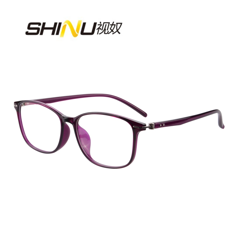 Anti Blue Myopia Eyeglasses single vision Prescription Glasses UV400 Antifatigue Photochromic Transition Optical Glasses Eyewear