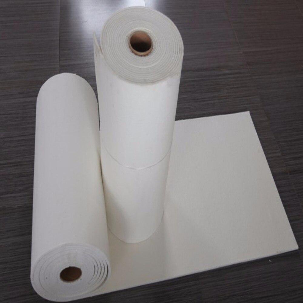"12Mx24 ""Almohadilla ignífuga de alta temperatura almohadilla de papel de tipo especial 12M de espesor 5MM el material de aislamiento térmico del tubo de escape"