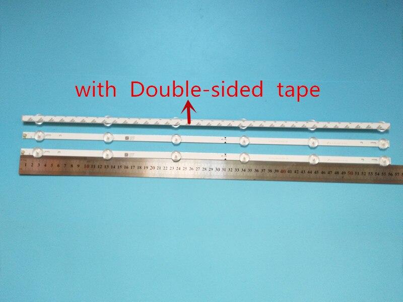 100% جديد 15 قطعة * 6LED 560 مللي متر LED شريط إضاءة خلفي ل SVJ320AG2 130307 32D2000 SVJ320AK3 SVJ320AL1