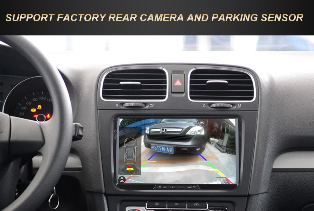 "KOOCAVS 9"" IPS Android 9.0 Car GPS Radio Player for Golf Polo Passat Seat Leon TIGUAN TOURAN 4GB+64GB Stereo Multimedia Headunit"