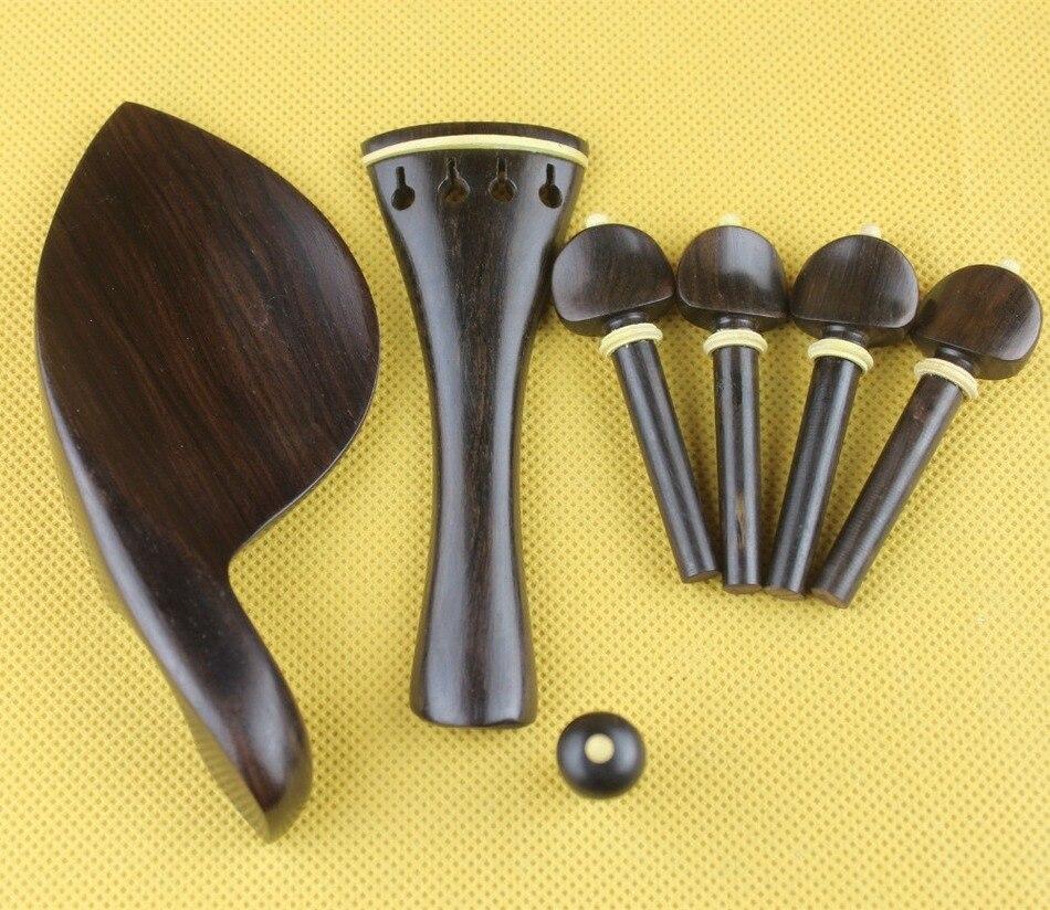 Piezas de Violín de ébano Luthier de alta clase 4/4, accesorios de...