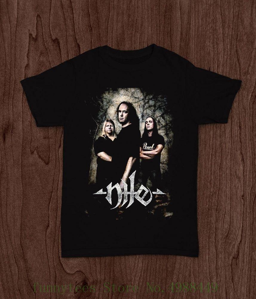 Nilo técnica banda de Death Metal Morbid Angel gigante T camiseta S, M, L, Xl, 2xl imprimir camisetas hombres