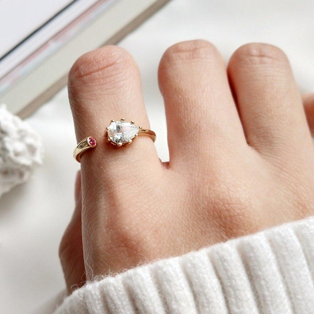 Designer zirkon ringe qualität reine 925 sterling silber openwork ringe einfache mode-design wilden charme frauen ringe edlen schmuck