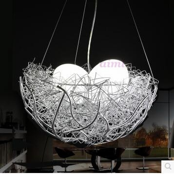 LED Creative bird's nest restaurant is the bedroom of children room stage 1w- 5w droplight 110v -240v factory direct sales  - buy with discount