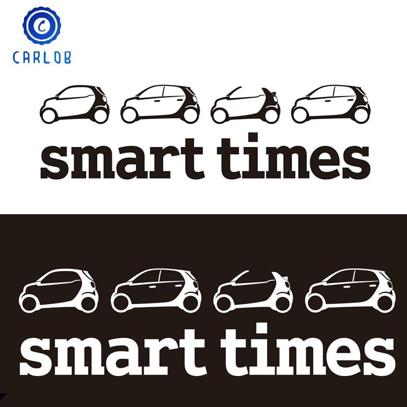3D Автомобильная Светоотражающая наклейка Smart Times, эмблема, значок, наклейка для Benz Smart Brabus 451 453 Forfour Fortwo Roadster Forspeed