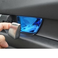 lsrtw2017 stainless steel car door inside handle bowl for honda accord 2018 2019 10 x accord
