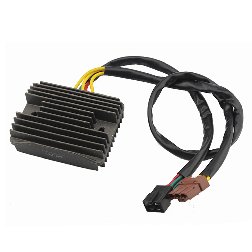 2-Plug Motorcycle Voltage Regulator Rectifier For Aprilia Sportcity 125 200 250 ie Atlantic 125 500 Sprint Scarabeo 250 400 ie