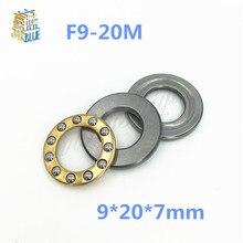 Free shipping 5Pcs F9-20M 9*20*7mm Axial Ball Thrust Bearings 9 x 20 x 7mm miniature thrust ball bearing RC Models