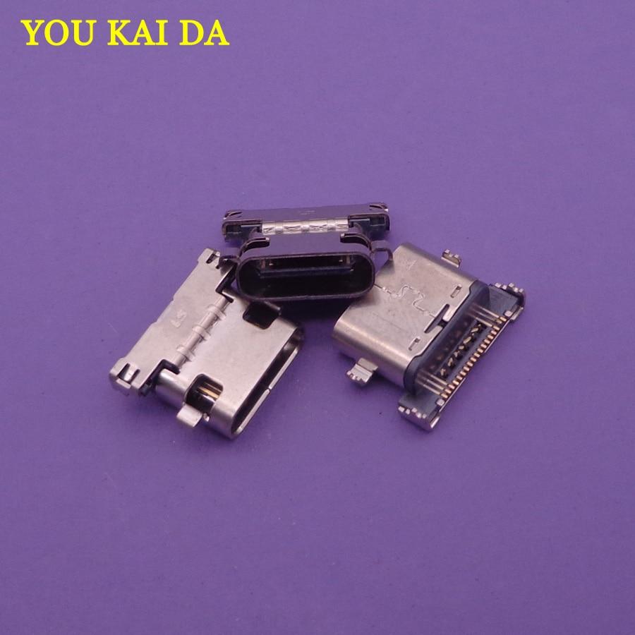 2 unids/lote repuesto nuevo para HTC M10 M10h Google nexus 5X nexus 5X cargador Usb puerto de carga conector