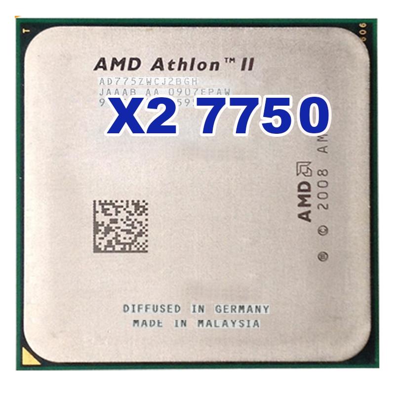 Procesador de doble núcleo AMD Athlon 64 X2 7750, 2,7 GHz, AM2...