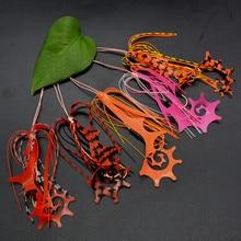 50 pièces pièces de glissière en cuivre matériel de pêche vivaneau jupes et caoutchouc cravate Mule fournitures dentretien