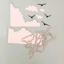 1 Set Cloud Bird Metal Cutting Dies DIY Scrapbooking Embossing Album Paper Card Making Dies Cutting Stencils