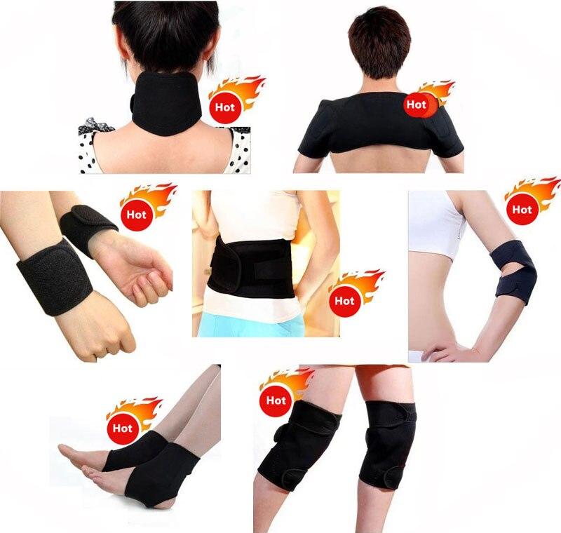 11 En 1 auto calentamiento espontáneo turmalina magnética cinturón Protector masajeador terapia para la cintura rodilla codo apoyo