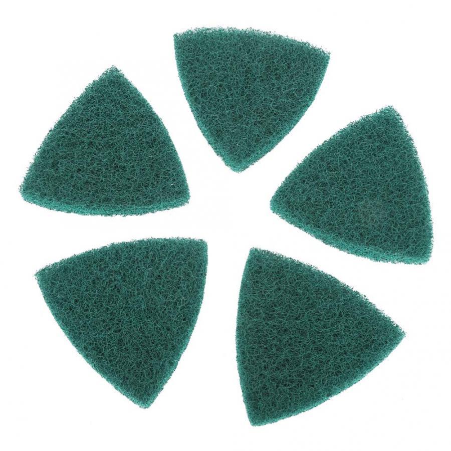 Ferramentas Acessórios Para 5 pcs Esfregões abrasivos Polimento Pad Placa Auto-adesivas Máquina de Moer