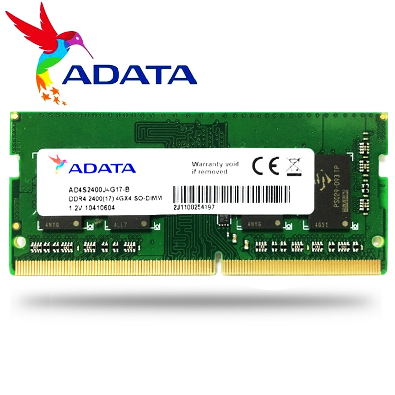 ADATA NB 4GB 8GB 4G 8G Laptop notebook Memory RAM Memoria Module Computer PC4 DDR4 2666MHZ  2666 MHz RAM
