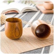 Tasses à thé en bois dépicéa naturel fait main primitif résistant à la chaleur tasse en bois bière lait Drinkware accessoires de Gadgets de cuisine