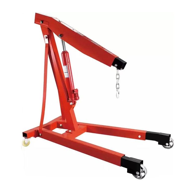 3 T Hydraulic Lifting Machine Small Crane Engine Manual Hydraulic Crane