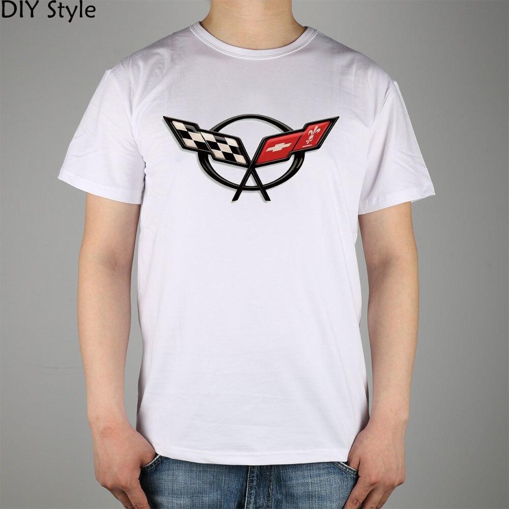 Camiseta de manga corta CORVETTE 66789 para hombre