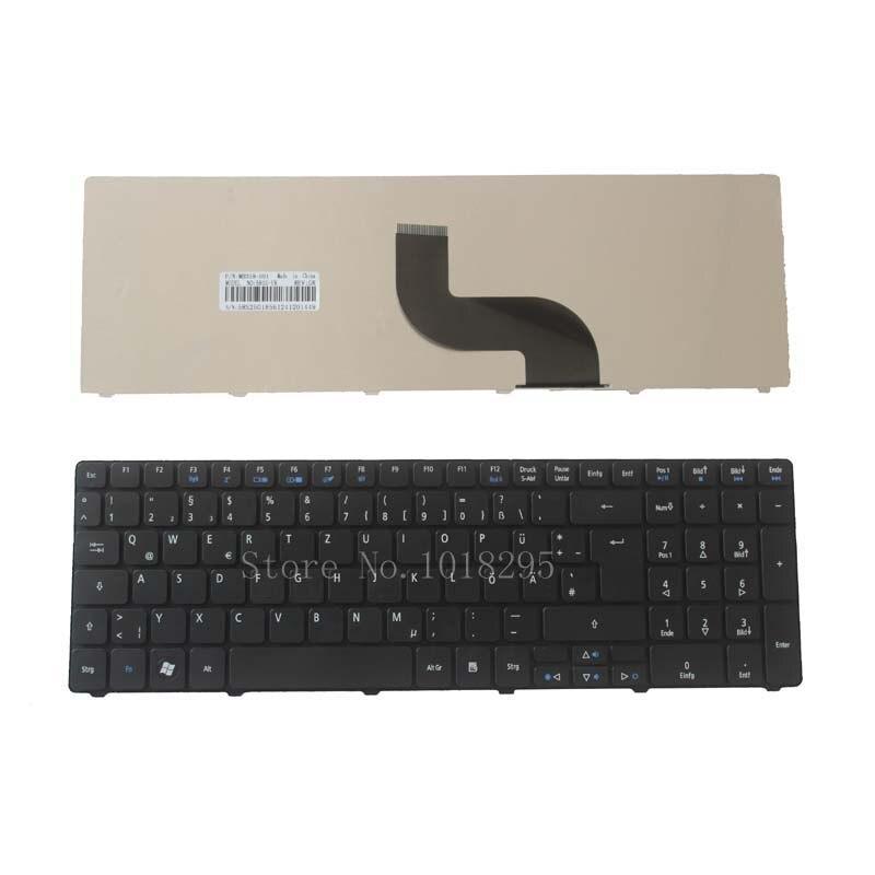 Teclado alemán para ordenador portátil Acer Aspire 5810 5536G 5738Z 5810T 5739...