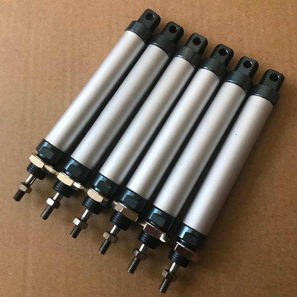 Диаметр 25 мм * 125 мм ход Алюминиевый пневматический цилиндр с магнитом MAL25 * 125