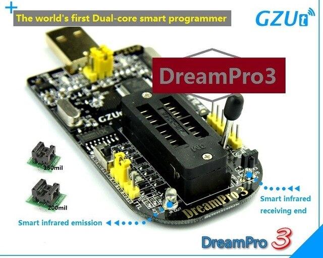 2020 + dreampro3 dreampro2 cópia offline placa-mãe bios spi flash 25 usb programador escritor + adaptador 150mil e 209mil