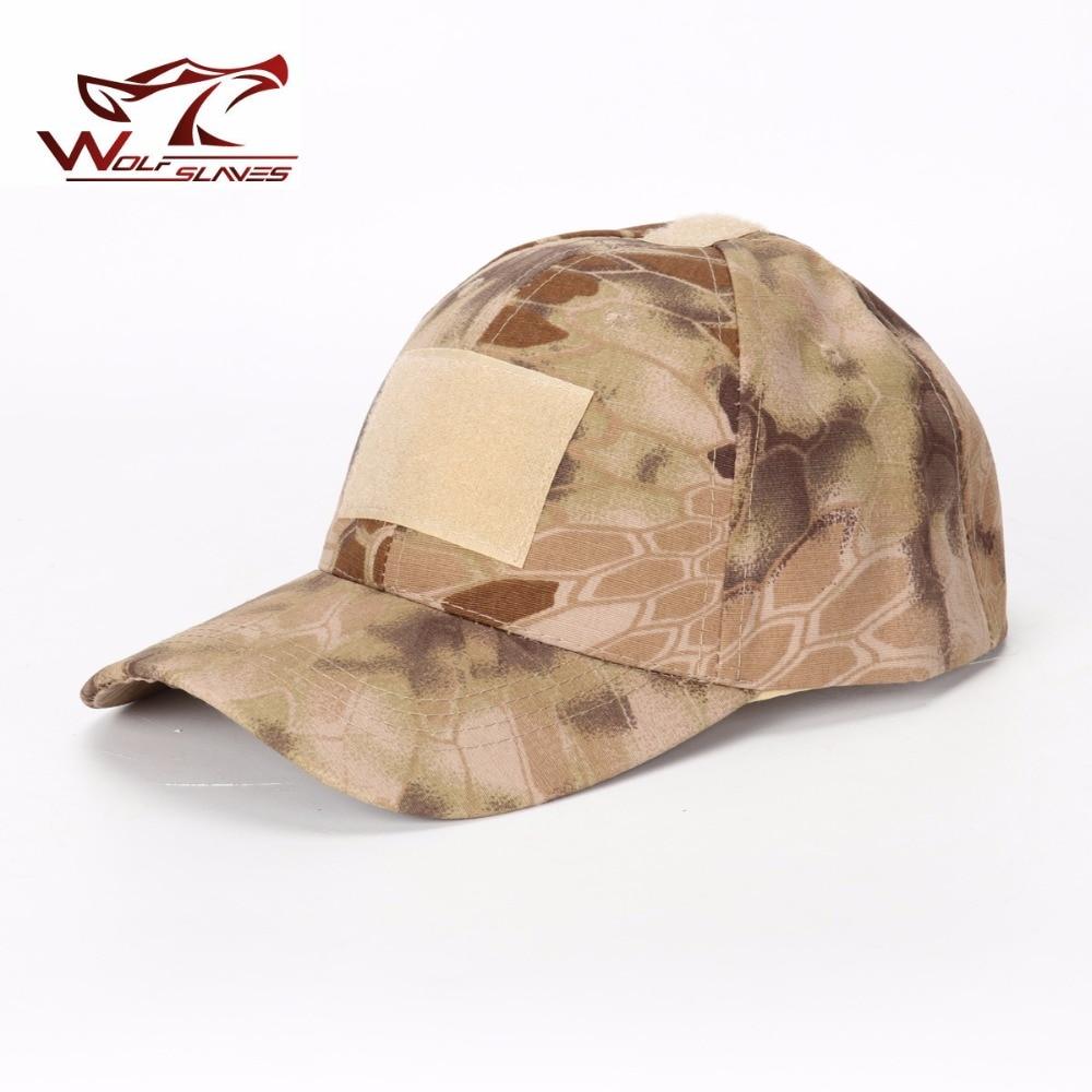 Sombrero militar A-TACS FG AU Woodland Marpat táctico béisbol Camo gorras camuflaje sombrero con gancho y bucle caza US gorra del ejército