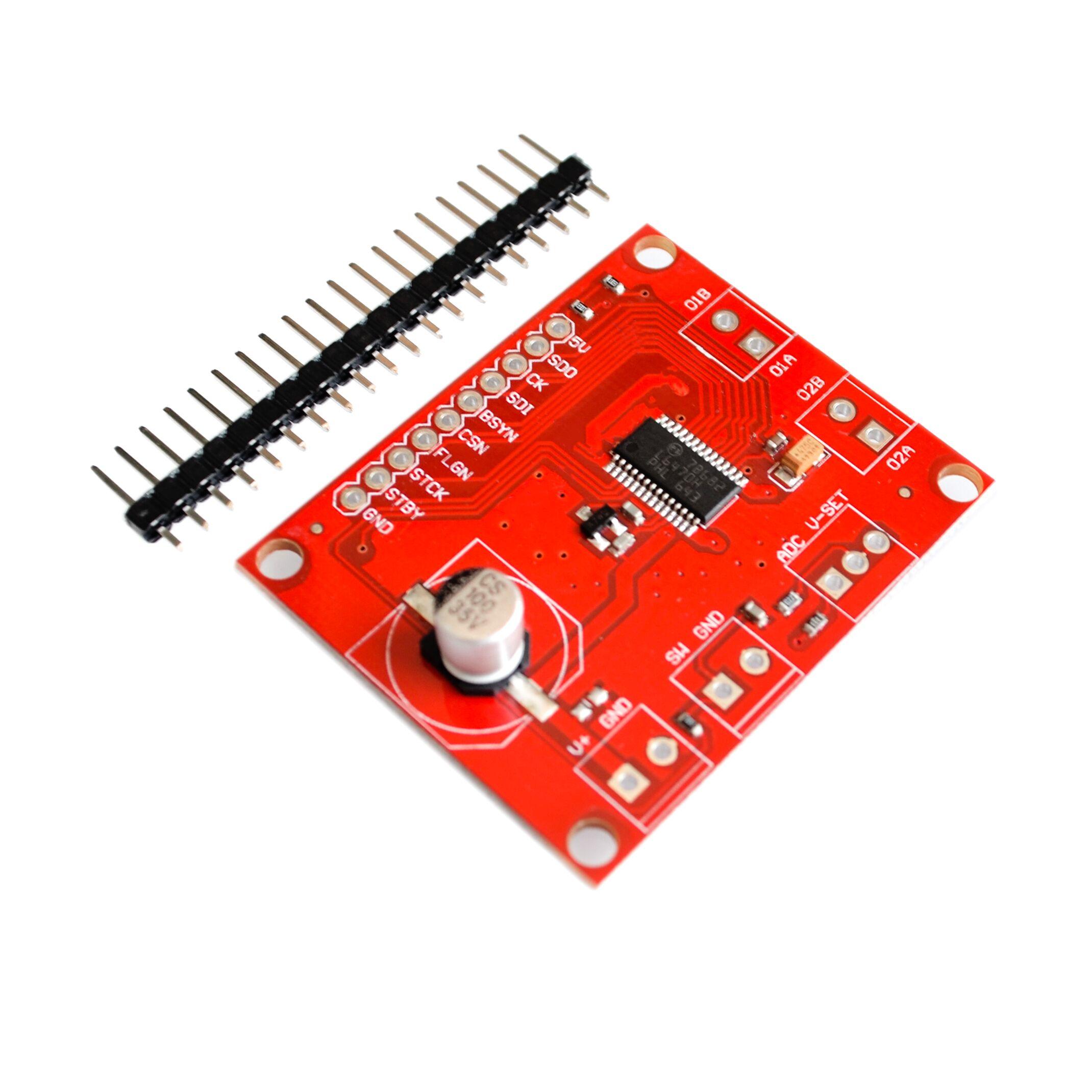 Nuevo L6470 paso a paso-conductor de adaptación 3A 8-45V bipolar paso a paso-tarjeta de control para motor para