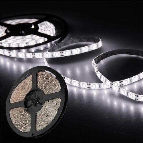 DSHA caliente nueva tira de luz Blanco 300 LED 5630 SMD Impermeable 5M Ultra Brillante + Control Mini