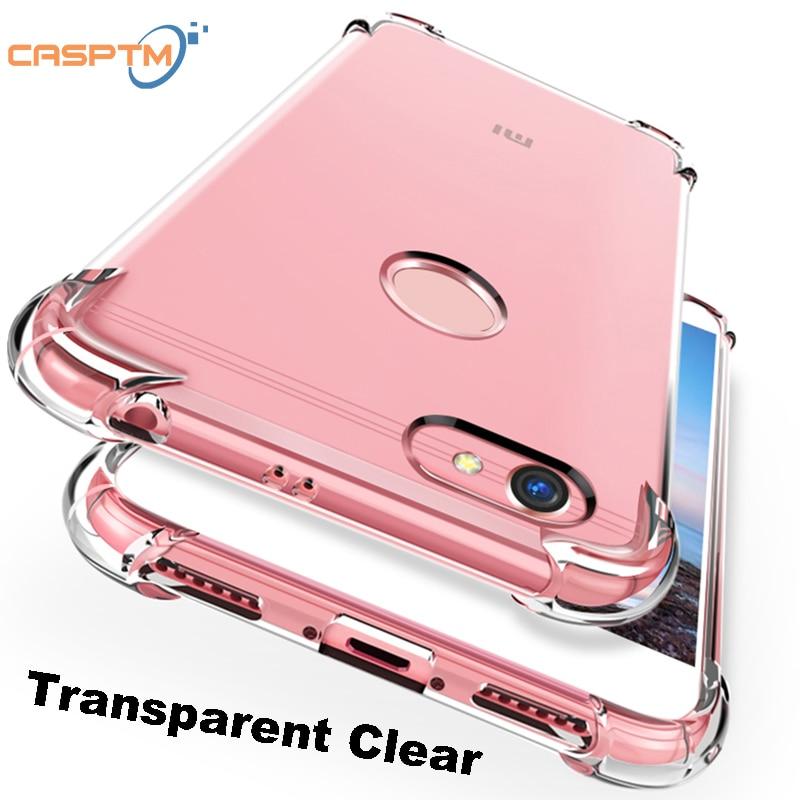 Funda protectora transparente para Xiaomi Redmi Note 7 Pro, carcasa a prueba de golpes para Mi9 SE Mi8 A2 lite 6A Note5 6Pro pocofone F1