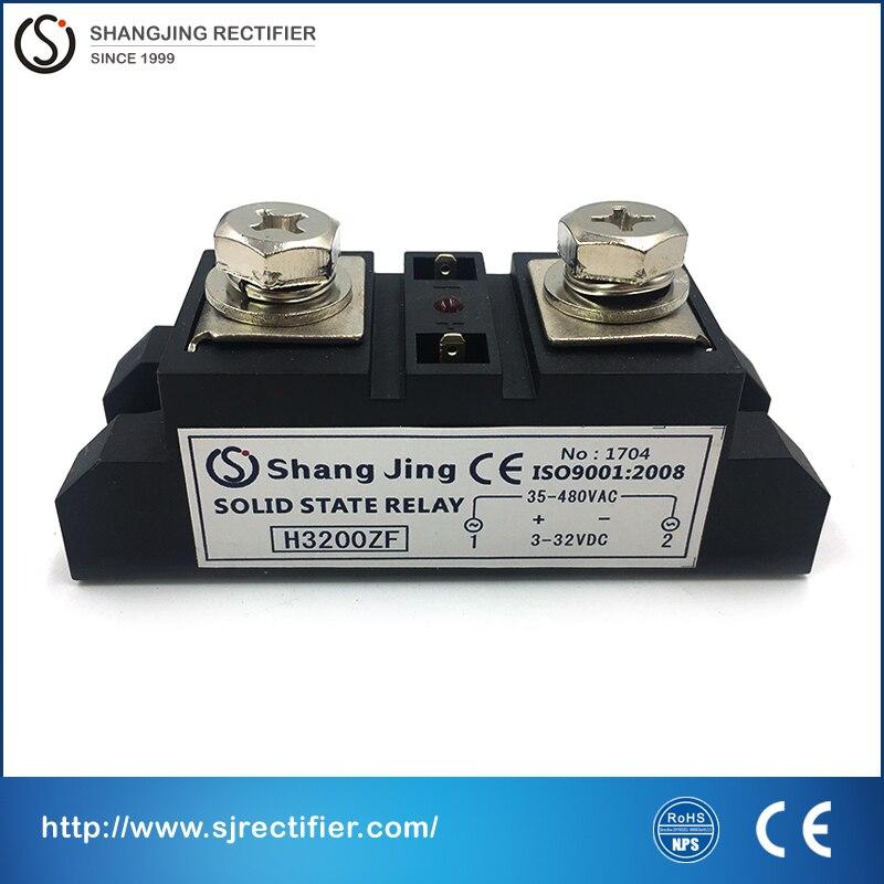Контур 94*34*32,5 мм 200A, высокотоковый ввод 3 ~ 32VDC выход 35 ~ 480VAC(DC-AC) SSR high end твердотельные реле, бесплатная доставка