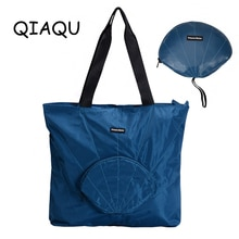 QIAQU quality Travel Foldable Hand bag Lightweight shell shoulder storage luggage bag outdoor waterp