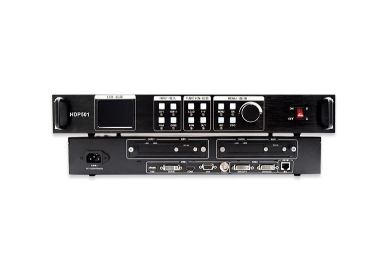 HDP501 pantalla LED a todo color procesador de vídeo trabajo con HD A601 A602 A603 Player Box T901 Tarjeta de envío
