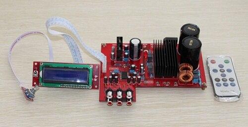 TDA8950 con placa amplificadora de potencia Digital de control remoto LCD Clase D