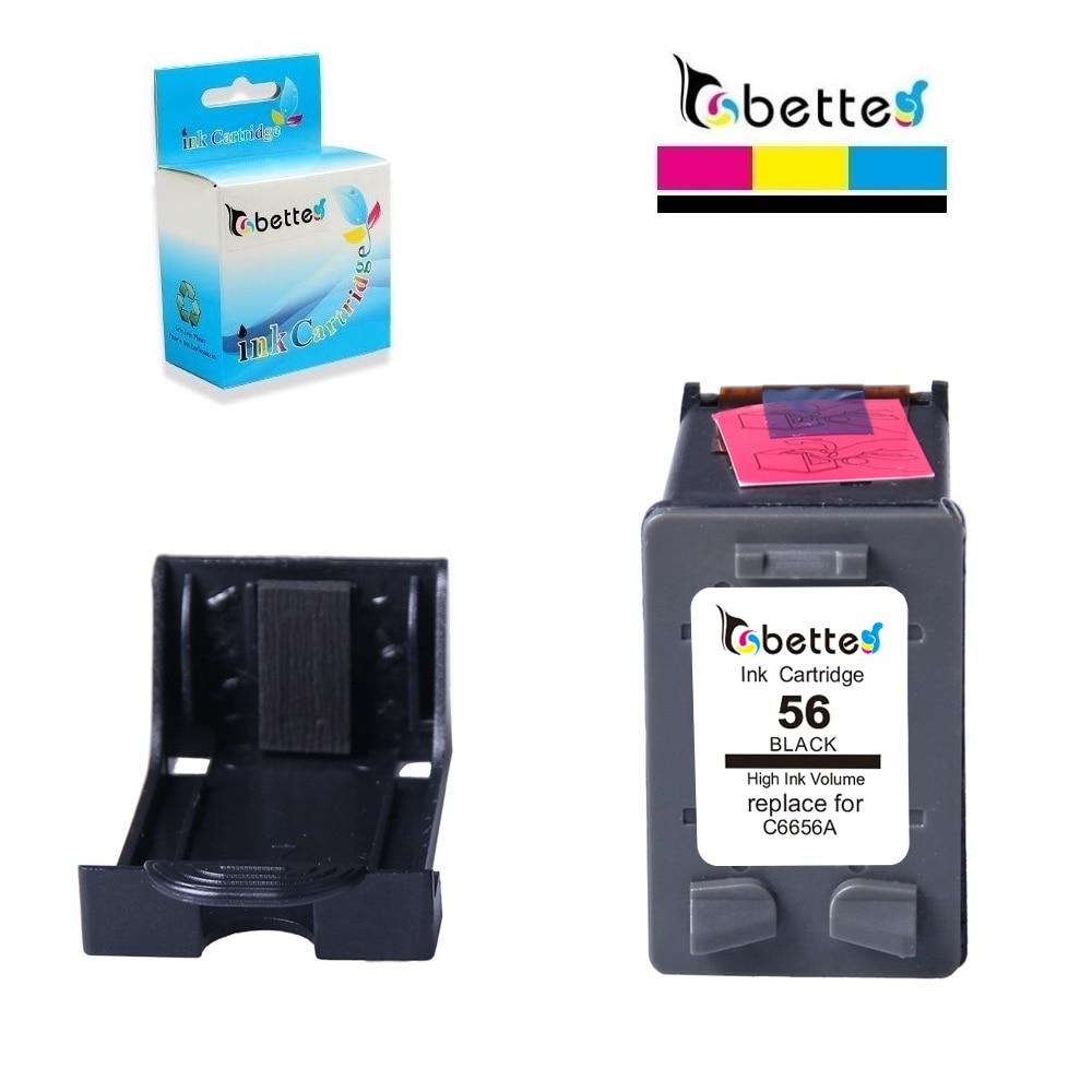 BETTE cartucho de tinta para hp 56 hp Officejet 56 5608, 5609, 5610, 5615, 5679, 5680 J5500 J5508 J5520 6150 410 dc410 Fax 1240