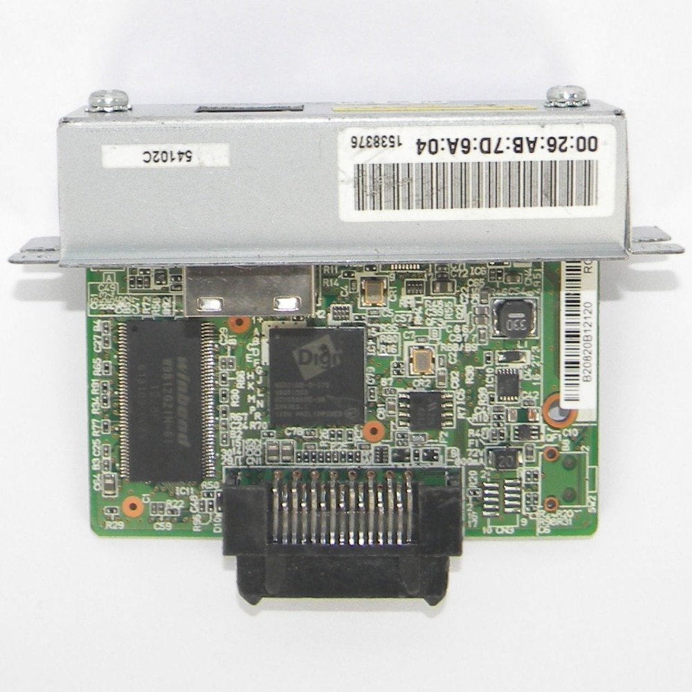UB-E03 M252A شبكة واجهة بطاقة لإبسون tm-t88v t88v 88v 88iv 88iii 220u TM استلام TU220B 88IV 88V T81 T82 طابعة أجزاء