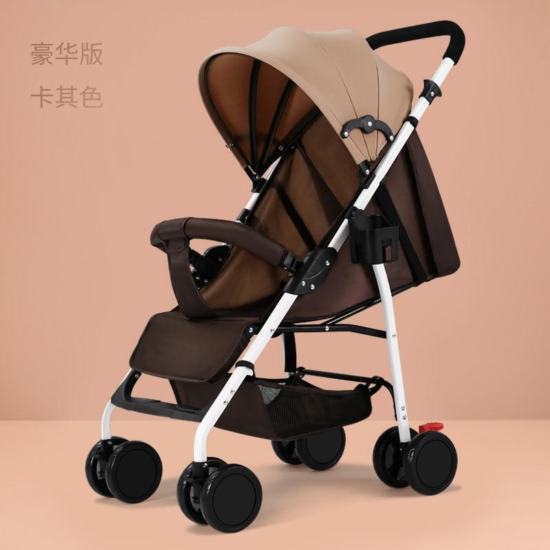 Cochecito de bebé para caminar, carrito de bebé