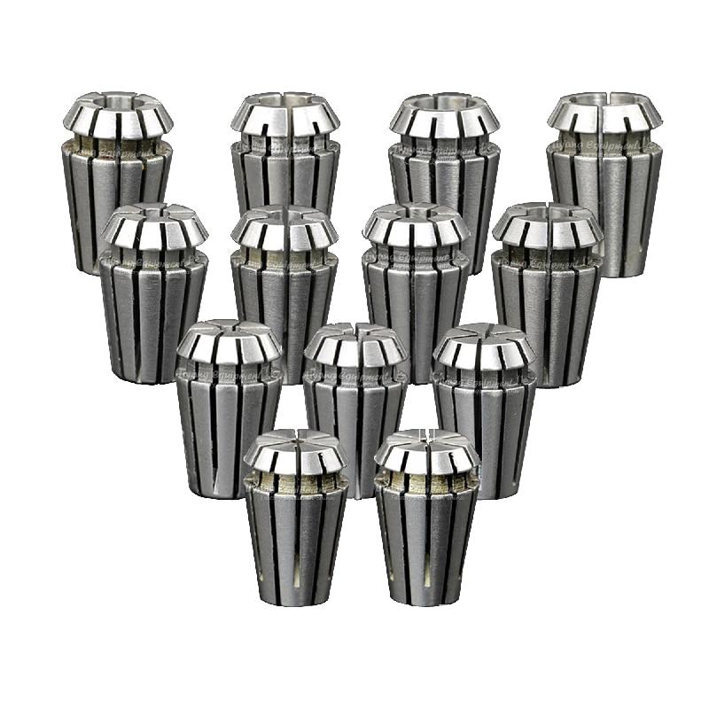 13pcs/lot ER16 1-10mm Spring Collet Set Collet chuck For CNC Milling Machine Spindle Motor 2.2KW enlarge