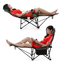 Кресло-раскладушка для комфортной рыбалки