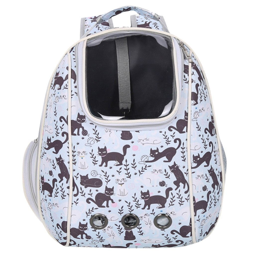 Bolsa para gatos, mochila para mascotas, herramienta portatil, mochilas de nido de dibujos animados de moda, caja de aire para perros, suministros para mascotas, mochila YL5