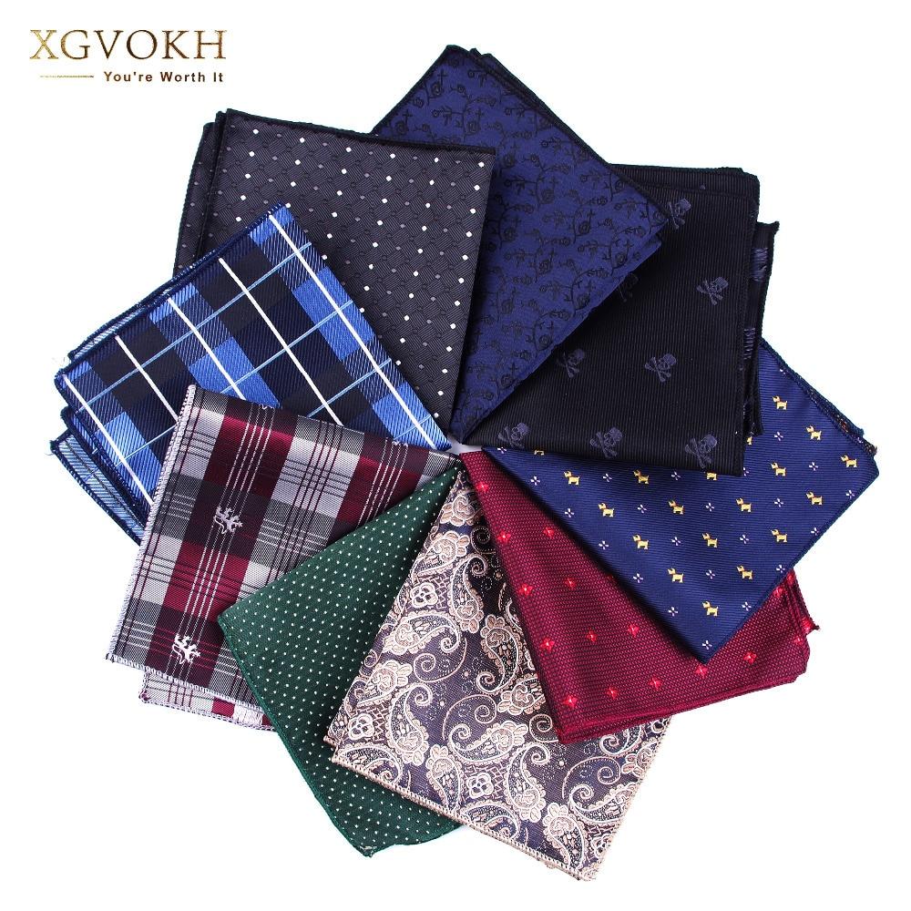 Практичные носовые платки cravat Hankerchief, мужские карманные платок с принтом, для формальной свадьбы, 23*23 см, Аксессуары для платья