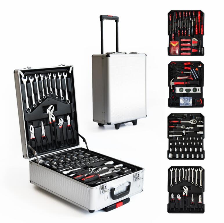217 шт. многофункциональный комбинированный инструментальный инструмент для ремонта автомобиля инструменты для домашнего обслуживания набор инструментов