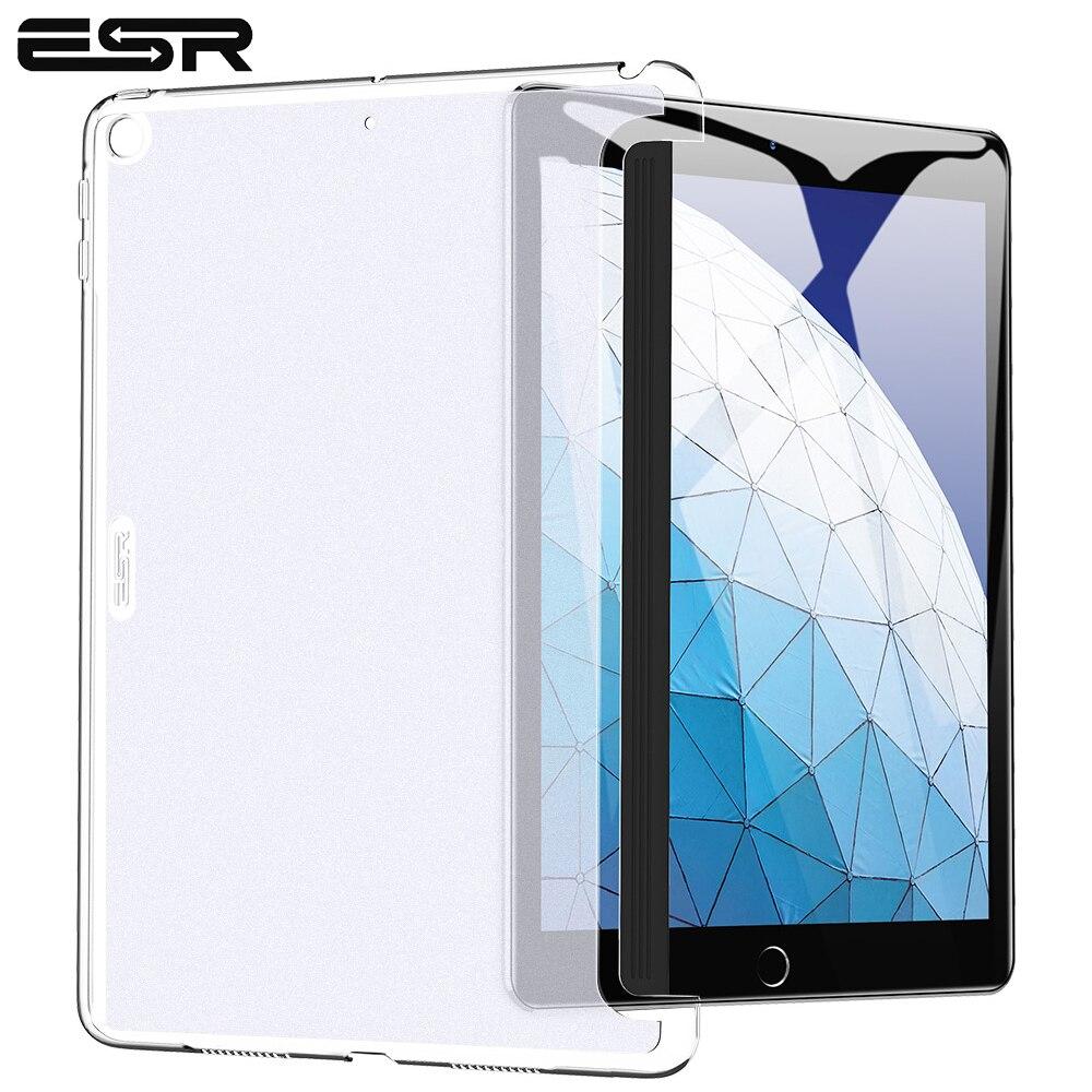 """Carcasa ESR para iPad Air 3 de 10,5 """"y 2019, carcasa dura transparente, funda rígida apta para teclado inteligente, carcasa delgada para iPad Air3 2019"""