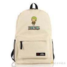 Bolso de hombro de una pieza de dibujos animados, Mochila con estampado de Zoro, bolsos de viaje para mujeres y hombres, mochilas escolares, mochilas femeninas