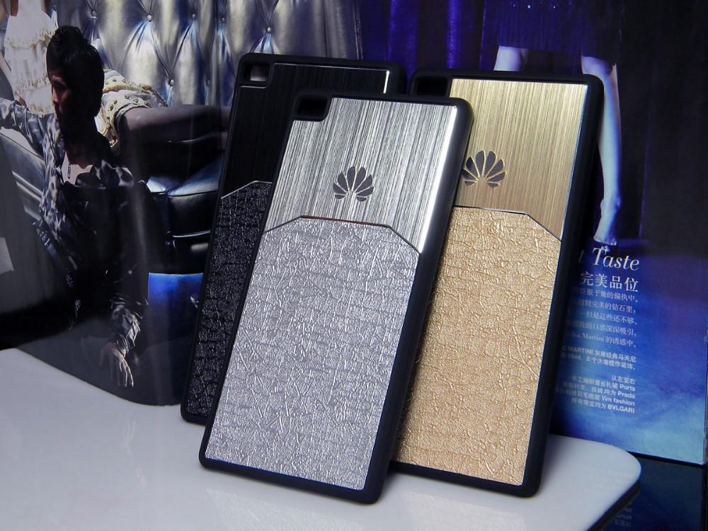 Dla huawei p8 lite case p9 lite plus honor 8 p9 pokrywy hybird Szczotkowanego aluminium Metal z Luksusowych Skóry materiał darmowa wysyłka 16