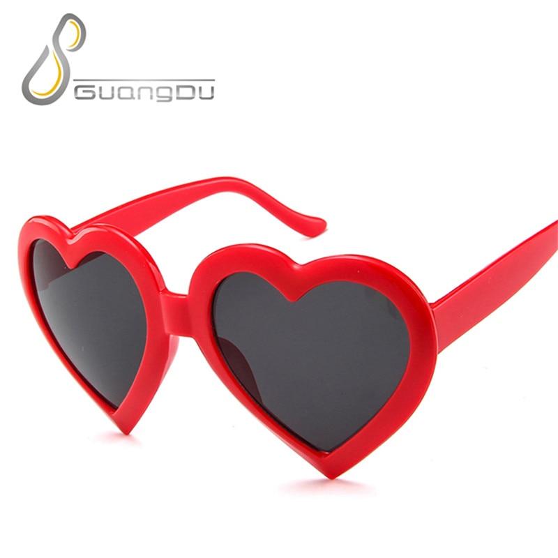 heart sunglasses women 2019 fending brand designer black yellow white blue Heart Sharp ladies glasses oculos de sol feminino