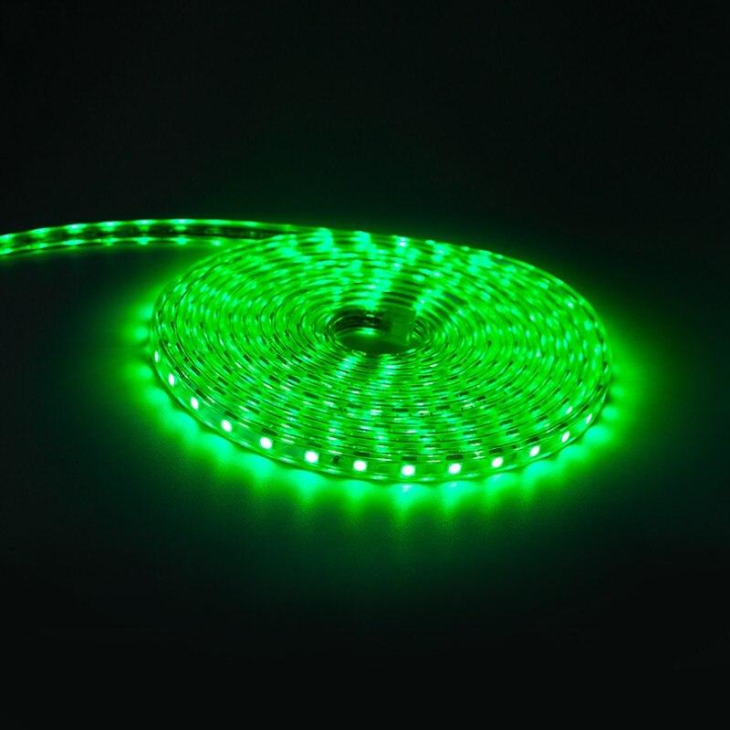 Alta quality5050 tira de iluminación Led flexible 60 leds/m LED resistente al agua cinta de luz Led con enchufe de alimentación de 5 M/6 M/8 M/9 M/10 M/12 M/15 M/20 M RGB