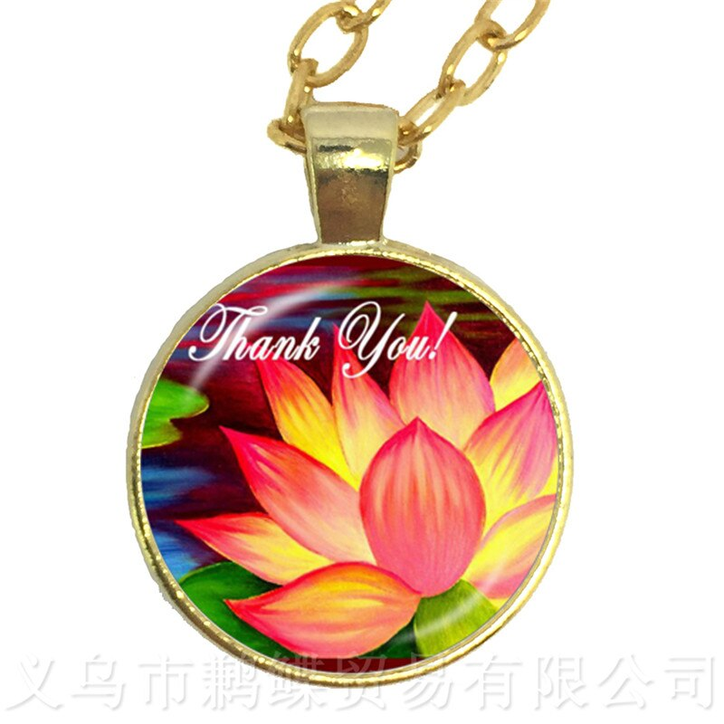 2018 New Merci Maitresse Glass Cabochon Pendant Necklace Fashion Sweater chain Women Men Jewelry Teachers Gift