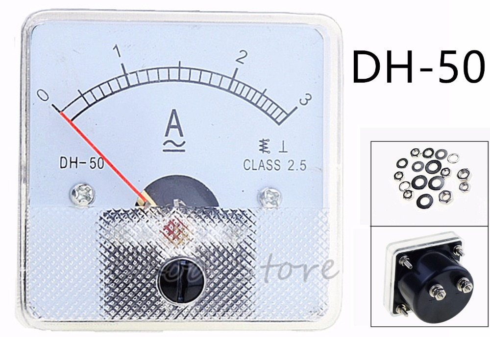 DH-50 AC 1A 2A 3A 5A 10A 20A 30A 50A 75A 100A 150A измеритель величины тока Амперметр Датчик